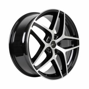 HSR Wurzburg CF R20x8.5 H5x114,3 ET45 Black Machine Face
