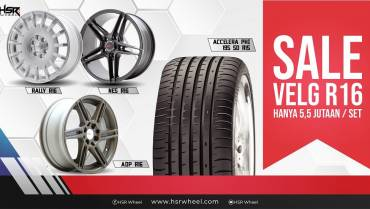 Velg Sale Ring 16 HSR Wheel, Mulai dari Rp5,5 Jutaan