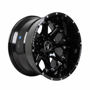 HSR Bunch L1526 R20X12 H8X165,1 ET-44 Gloss Black