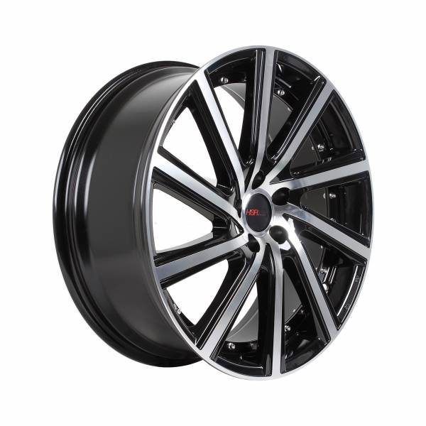 HSR Ciao H1281 Ring 21x8,5 H5x114,3 ET45 Black Machine Face