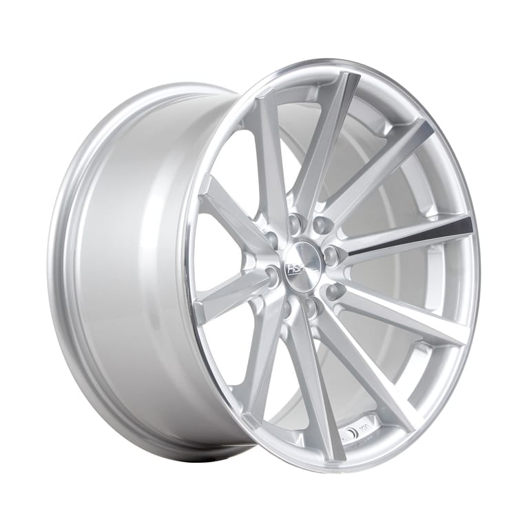 HSR Hustler JD9018 Ring 17x7,5-9 H8x100-114,3 ET42-37 Silver Machine