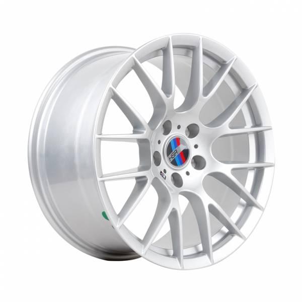 HSR Luneburg H8001 R18x8-9 H5x120 ET35 Silver