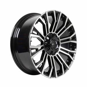 HSR Myth02 R20x8,5 H10x114,3-127 ET35 Black Machine Face