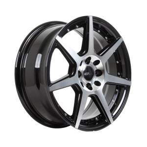HSR Ne7 JD5339 Ring 16x7 H8x100-114,3 ET40 Black Machine Face