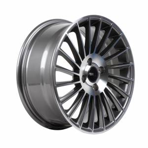 HSR Numfor H1013 R16x7 H4x100 ET40 Grey Machine Face