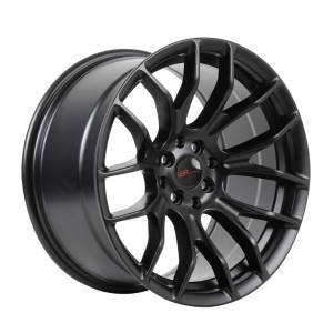 HSR Oster JD106 Ring 17x7,5-9 H8x100-114,3 ET42-35 Semi Matte Black