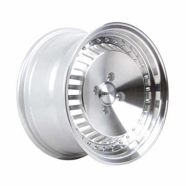 HSR Sasebo H475 R15X78 H4X114,3 ET3525 Silver Machine Face Machine Lip
