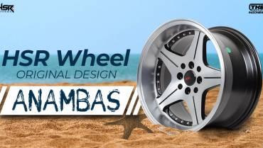 HSR Anambas Velg Original HSR Wheel yang Terinspirasi dari Alam Laut di Kepulauan Riau