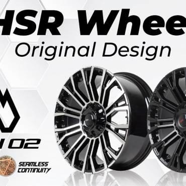MYTH 02, Velg Original Design Kedua HSR Wheel yang Tampil Lebih Manis