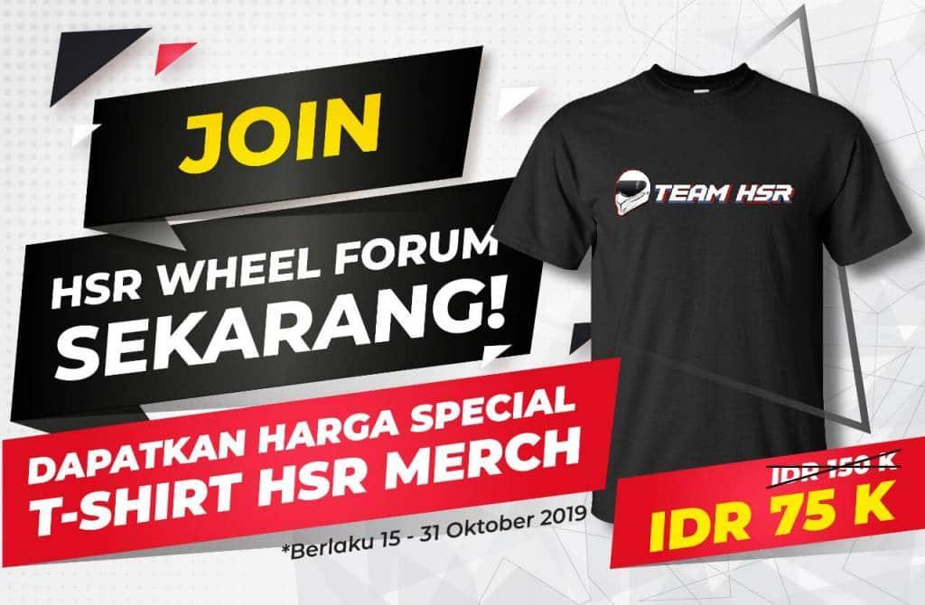 Join Forum Dapat T-Shirt HSR Merch