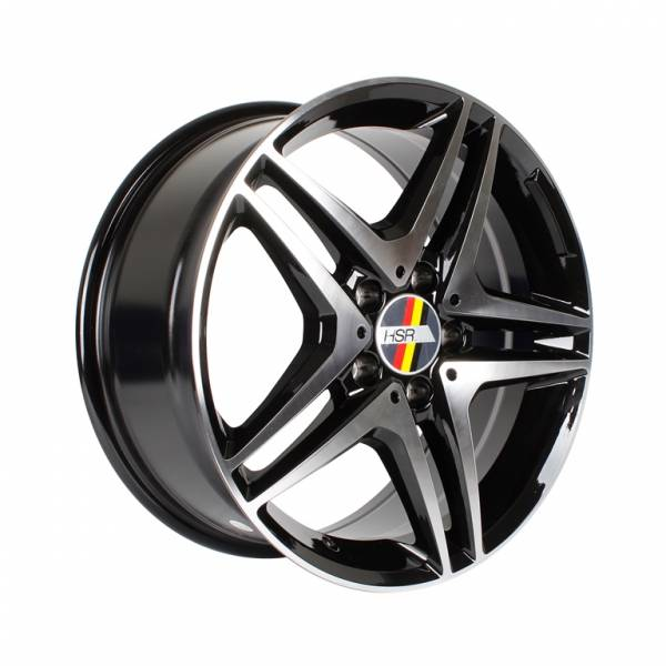 HSR Antlers H1303 Ring 17x7,5 H5x112 ET45 Black Machine Face