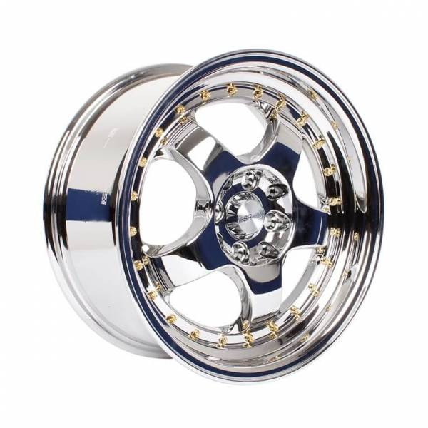 HSR Brisket 55443 Ring 16x7,5 H8x100-114,3 ET35 Chrome