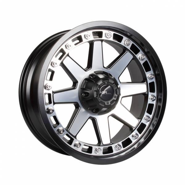 HSR Caruban H83743 Ring 20x9 H6x139,7 ET15 Semi Matte Black Machine Face