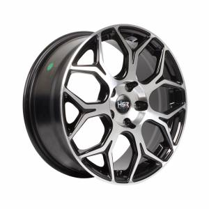 HSR Grong H12133 Ring 17x7.5 H5x114.3 ET40 Black Machine Face