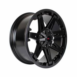 HSR Hanks H1138 Ring 20x9 H6x139,7 ET25 Semi Matt Black