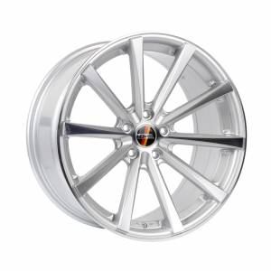 HSR Hustler A9018F Ring 20x8,5 H5x114,3 ET45 Silver Machine Face