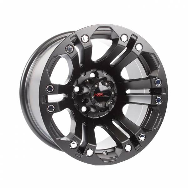 HSR JT69 Ring 15x8 H5x114,3 ET0 Semi Matt Black