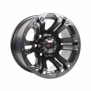 HSR JT69 Ring 15x8 H6x139,7 ET0 Semi Matt Black