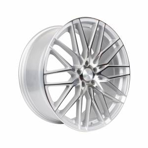 HSR Jeneponto 2247 Ring 21x9 H5x114,3 ET40 Silver Machine Face