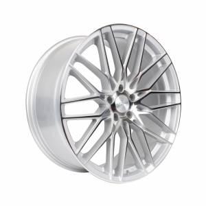 HSR Jeneponto 2247 Ring 21x9 H5x114,3 ET40 Silver Machine Face