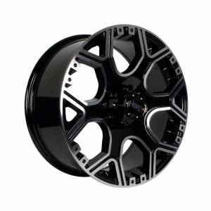 HSR Oksibil 6053 Ring 18x8 H5x114,3 ET35 Black Machine Face