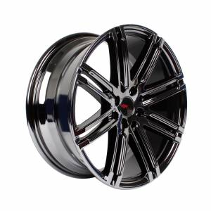 HSR Pantheon 80623 Ring 17x7,5 H8x100-114,3 ET38 Black Chrome