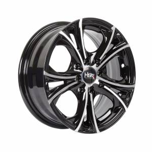 HSR Terangon H52263 Ring 14x6 H8x100-114.3 ET38 Black Machine Face