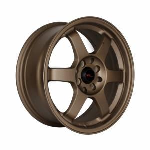 HSR Tokyo JD614 Ring 16x7 H8x100-114,3 ET38 Semi Matte Bronze