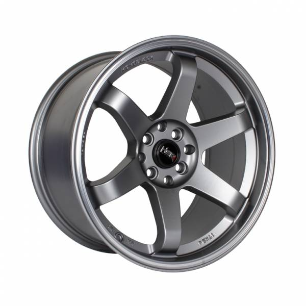 HSR Tokyo Oshu JD37 Ring 17x7,5-9 H8x100-114,3 ET42-35 Semi Matte Grey Machine Ring