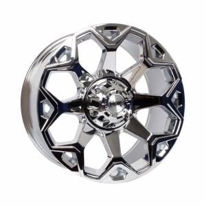 HSR Twiist 08 H82743 Ring 20x9 H6x139,7 ET15 Chrome