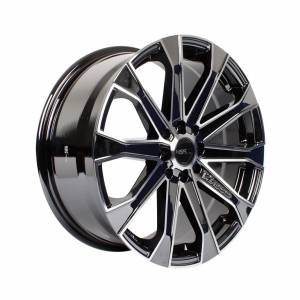 HSR Verezzo 10689 Ring 17x7,5 H8x100-114,3 ET40 Black Chrome Machine Face