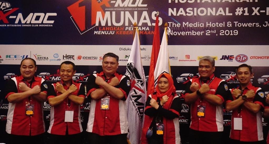 Munas Perdana X-MOC Sukses Pilih Ketua Umum Baru, HSR Wheel Ikut Support!