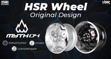 MYTH 04, Velg Original Design HSR Wheel yang Tampil dengan Inovasi Terbaru