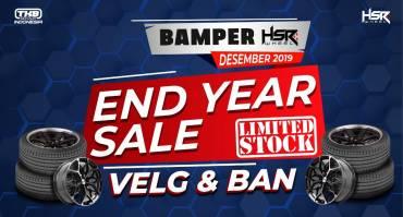 """Promo """"END YEAR SALE"""" dari HSR Wheel Cuma 3 Jutaan, Ada Paket Velg dan Ban Juga Lho!!"""