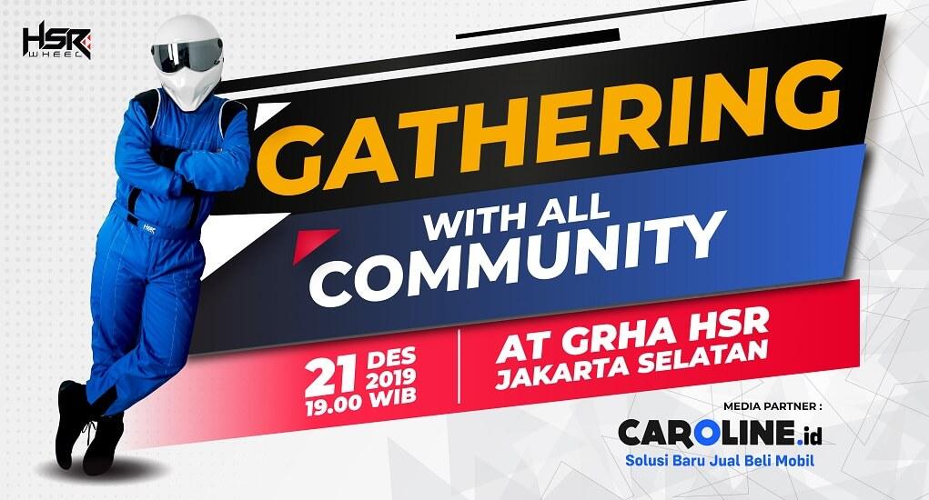 Ikuti Gathering with All Community HSR Wheel untuk Menemani Malam Minggu Kamu!