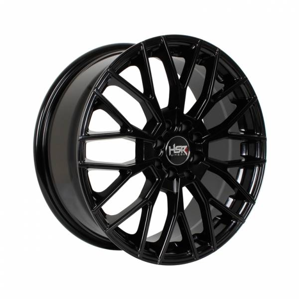 HSR Anemon H308 Ring 17x7 H8x100-114,3 ET45 Semi Matte Black1