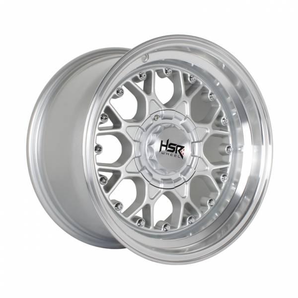 HSR Buniwah H8001 Ring 15x7,5-8,5 H8x100-114.3 ET18-15 Silver Machine Lips1