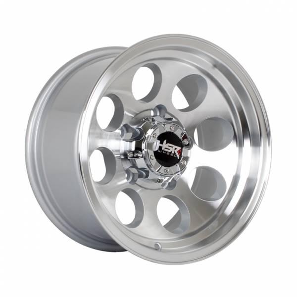 HSR Duffy JT84 Ring 15x8 H5x139,7 ET-23 Silver Machine Face Lips1