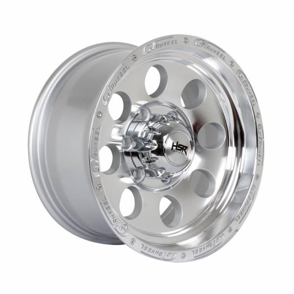 HSR Duffy JT84 Ring 16x8 H6x139,7 ET0 Silver Machine Face Lips1