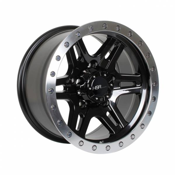 HSR Kwanyar WL143 Ring 15x8 H5x139,7 ET0 Black Machine Lips1