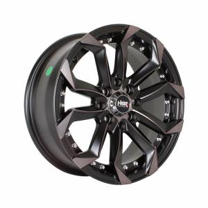 HSR Labang H5120 Ring 15x7 H8x100-114,3 ET42 Matte Black Oil Face1