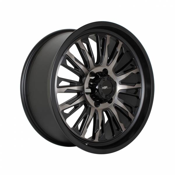 HSR MELAWI WL155 Ring 20x9 Hole 6x139.7 ET18 Black Machine Face + Grey Oil1