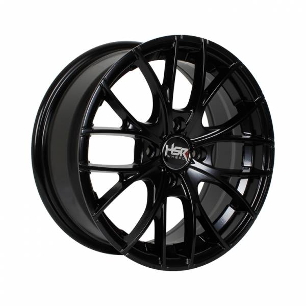 HSR Naples H552 Ring 15x6,5 H4x100 ET38 Semi Matte Black1