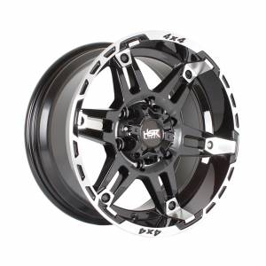 HSR Natai JT6084 Ring 16x8 H6x139,7 ET10 Black Machine Face1