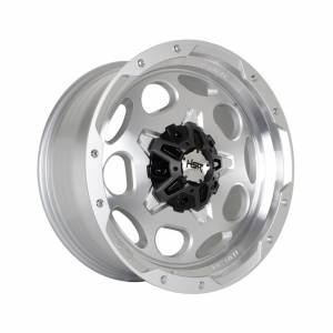 HSR Pisak H5123 Ring 20x9 H6x139,7 ET10 Silver Machine Face1