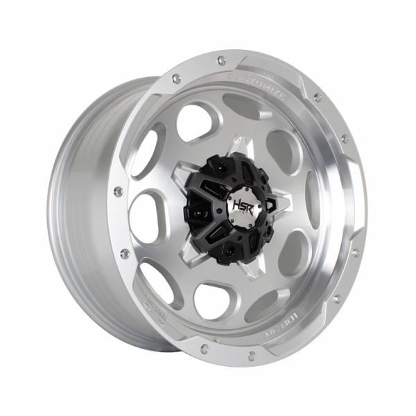 HSR Pisak H5123 Ring 20x9 H6x139,7 ET10 Silver Machine Face1