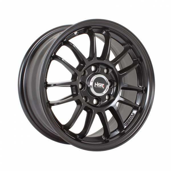HSR Revo Ring 14x6 H8x100-114.3 ET35 Semi Matte Black1