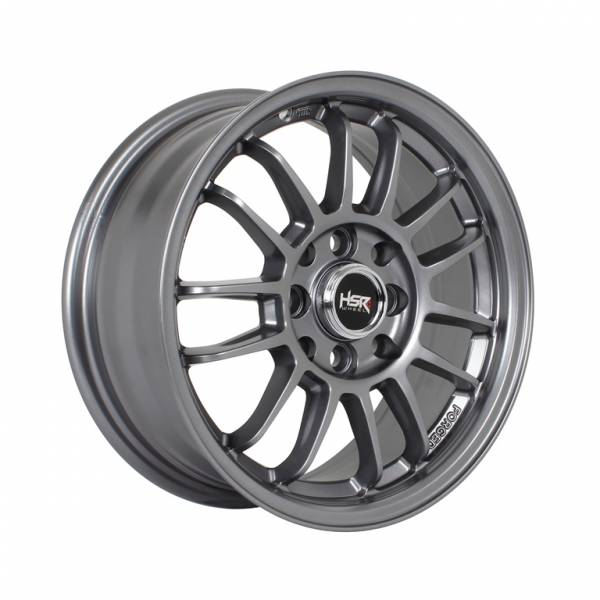HSR Revo Ring 14x6 H8x100-114.3 ET35 Semi Matte Grey1