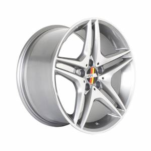 HSR Rostock S500 AM5055 Ring 17x8 H5x112 ET45 Grey Machine Face1
