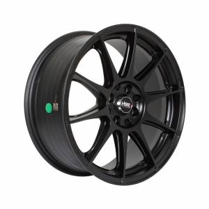 HSR Shinjuku H1090 Ring 17x7,5 H8X100-114,3 ET35 Semi Matte Black